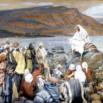 Yeshua Teaches People by the Sea, by James Tissot