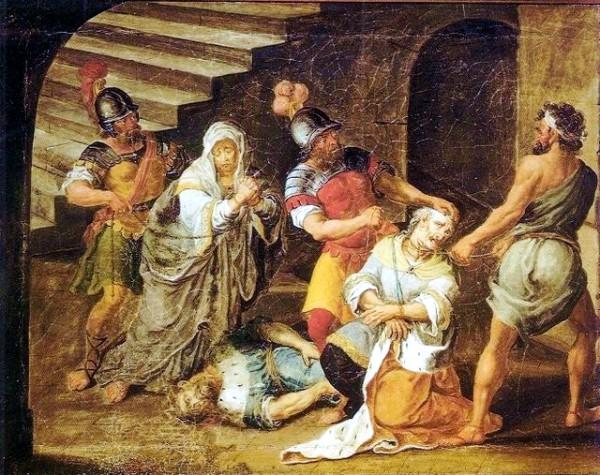 The Death of Judah Maccabee, by José Teófilo de Jesus