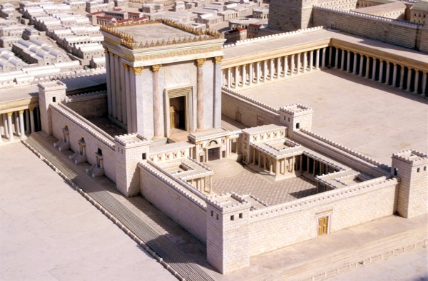 Model-Second Temple-Jerusalem-Temple Mount