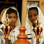 Torah scroll_finials_rimmon_bar mitzvah_tallit