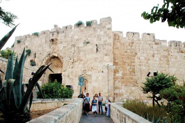 Zion Gate_Jerusalem