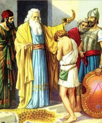 Samuel,David, anointing
