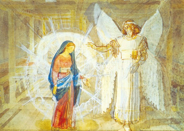 The Annunciation, by Ivanov Alexander Andreevich