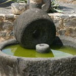 Ancient olive press-Capernaum-Israel