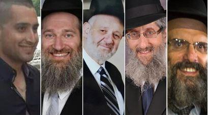 Zidan Nahad Seif Aryeh Kupinsky Avraham Shmuel Goldberg Kalman Zeev Levine Moshe Twersky killed terrorist attack Jerusalem synagogue