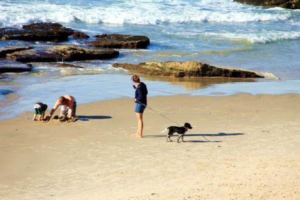 Family-Tel Baruch Beach-Tel Aviv