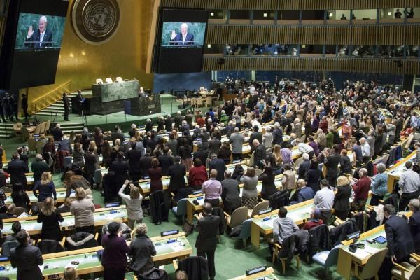 UNGA-Israeli President Rivlin-International Holocaust  Remembrance Day