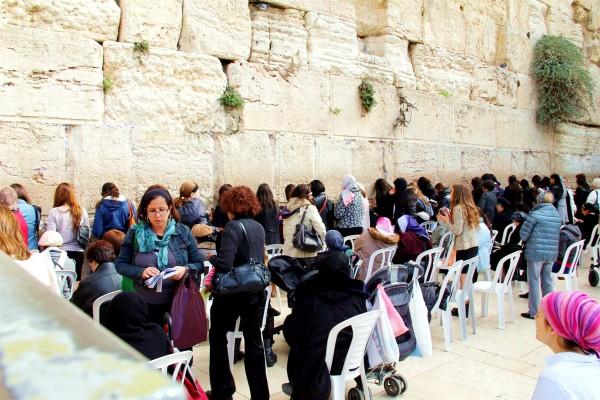 prayer-Jerusalem-women's section-the Wall