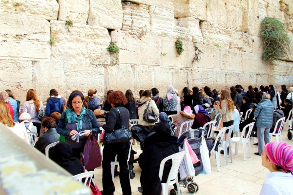 prayer-Jerusalem-women's section-the Wall