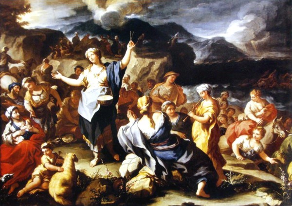 Miriam, Crossing the Red Sea, Praise, Fear, Faith, Praise