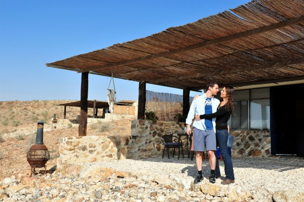 A couple vacations in the Negev Desert.
