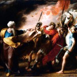 Saul Reproved by Samuel, by John Singleton Copley