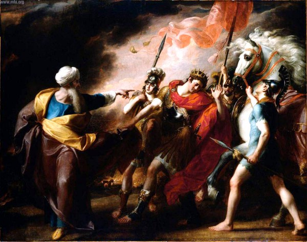 Saul Reproved by Samuel, by John Singleton Copley