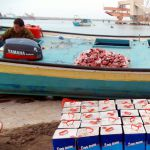 The IDF intercepted a fishingboat used to smuggle liquid fiberglass. The liquid fiberglass was intended for Hamas and meant to be used in the manufacturing of rockets and mortars.