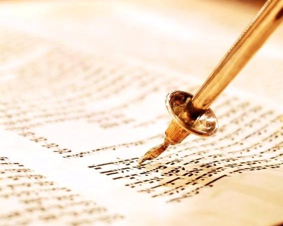 Yad-Torah pointer-Scroll-Ten Commandments
