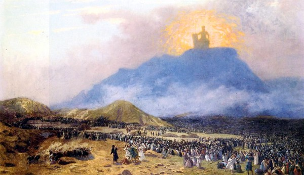 Moses on Mount Sinai, by Jean-Leon Gerome