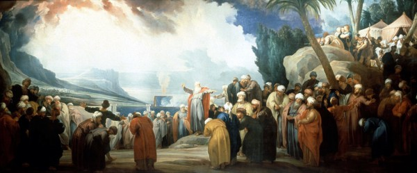 Moses Elects the Council of Seventy Elders, by Jacob de Wit