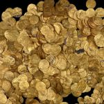 gold coins discovery at Caesaria National Park