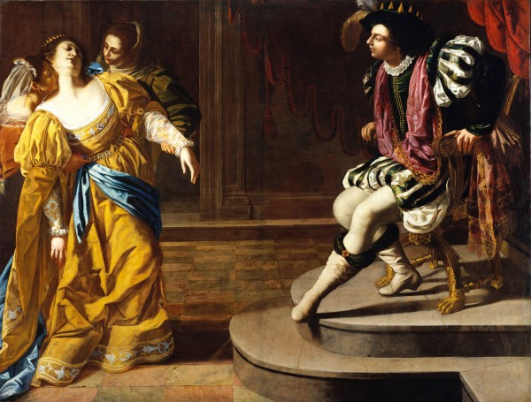 Esther Before Ahasuerus, by Artemisia Gentileschi (Metro Museum of Art)