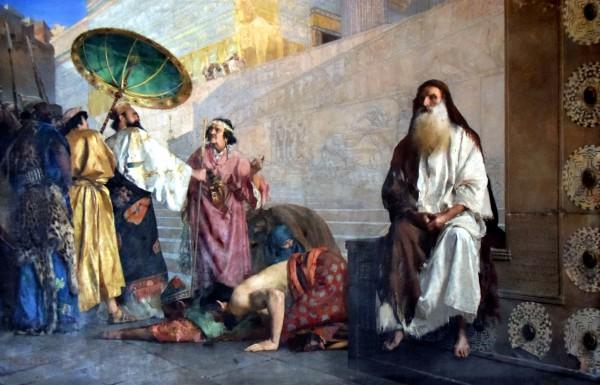 Haman and Mordecai, by Paul Alexander Leroy