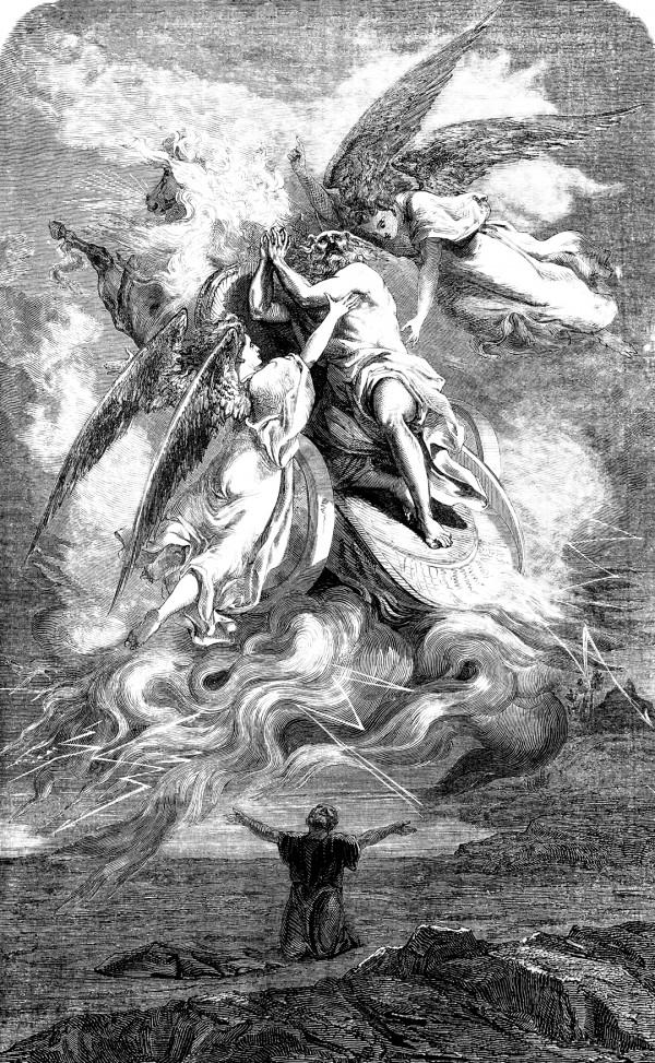 The Prophet Elijah Taken to Heaven
