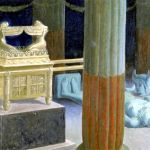 The Idol Broken Down Before the Ark, by James Tissot