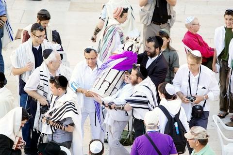 Rites of Passage-Western Wall-Wailing Wall-youth-Sefer Torah-tik