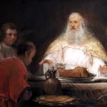 Abraham and the Angels, by Aert de Gelder