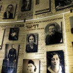 The Hall of Names at Yad Vashem, the Holocaust History Museum in Jerusalem