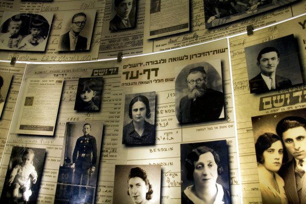 The Hall of Names-Yad Vashem-the Holocaust History Museum, Jerusalem, International Holocaust Remembrance Day