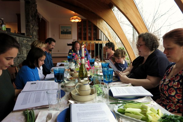 Passover Seder (photo by Rachel Barenblot)