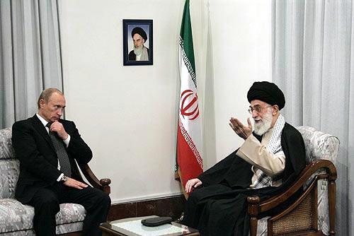 Putin in Iran