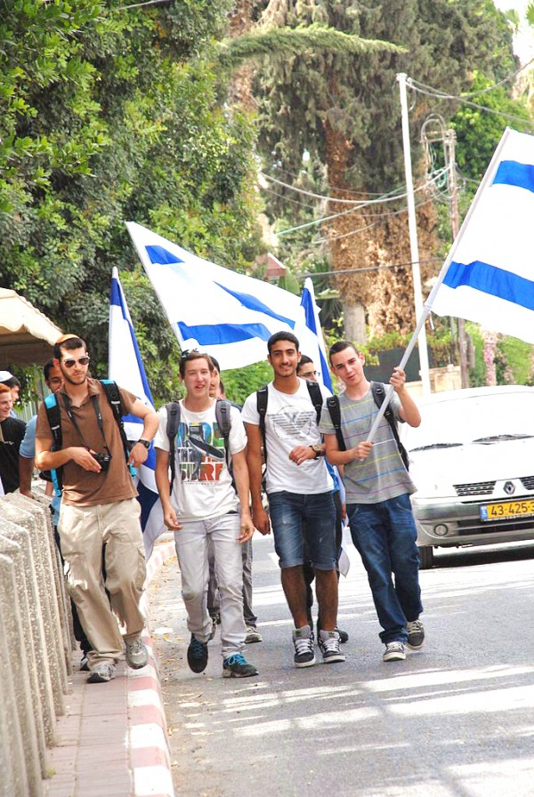 Israeli youth celebrate the rebirth of Israel as a nation.