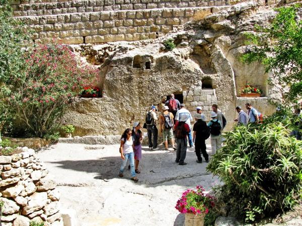 Empty tomb-Garden Tomb-Jerusalem