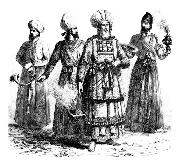 A depiction of Jewish priests