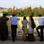 Western Wall, Temple Mount, Mount Scopus