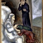 Blessing of Ephraim and Manasseh, by Marc Chagall