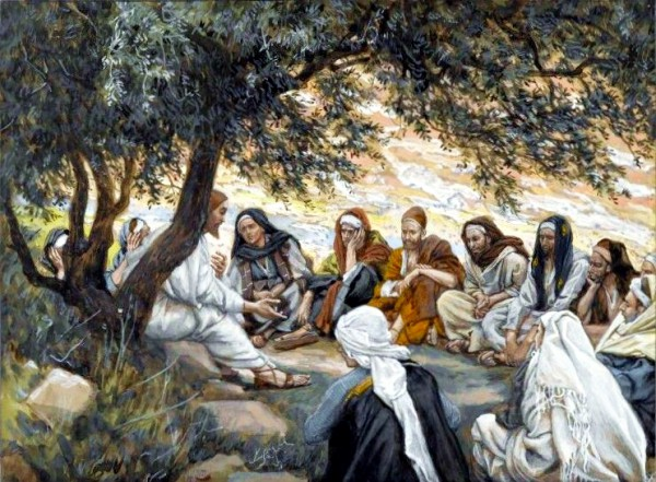 The Exhortation to the Apostles, by James Tissot (Brooklyn Museum)