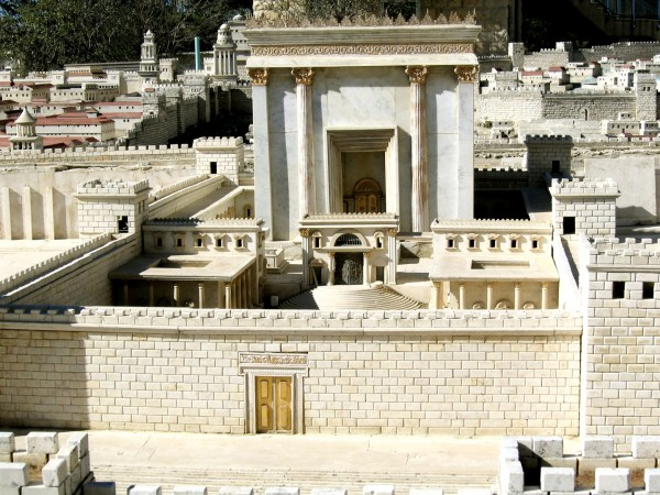 A model of the Second Temple.