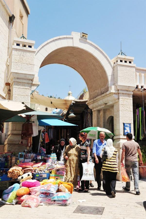 A market in Nazareth
