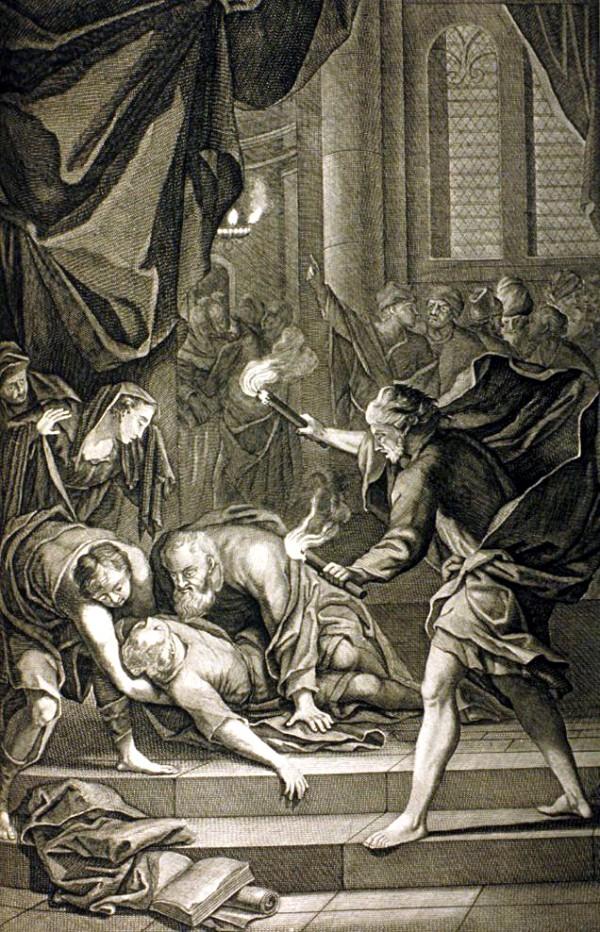 Paul Raises Eutychus to Life