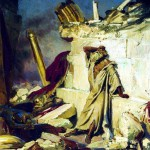 Cry of Prophet Jeremiah on the Ruins of Jerusalem, by Ilya Repin (Tretyakov Gallery in Moscow)