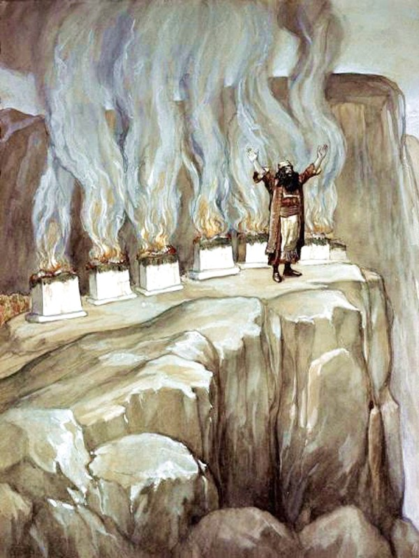 Balaam Prophesies the Glory of Israel, by James Tissot