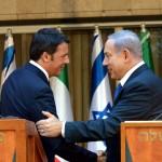 Prime Minister-Israel-Italy-Netanyahu-Renzi-shake hands