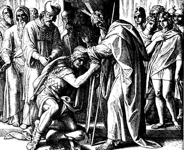 Joshua Succeeds Moses (WELS World Mission Clip Art)