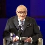 Lord George Weidenfeld-Holocaust survivor-debt of gratitude