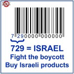 buycott versus boycott-buy Israeli products