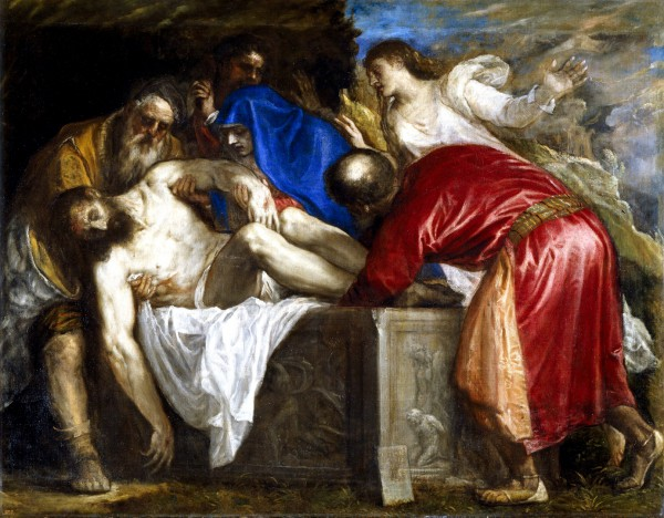 The Burial of Messiah, by Titian