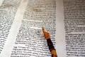 Torah and yad (Torah pointer) (Photo by Alexander Smolianitski)