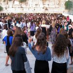 Women's section at the Western (Wailing) Wall in Jerusalem.